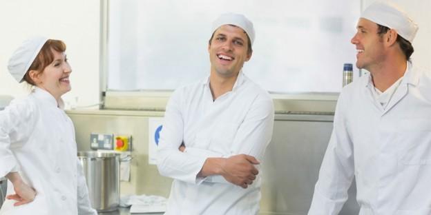 Cruise ship chefs off duty