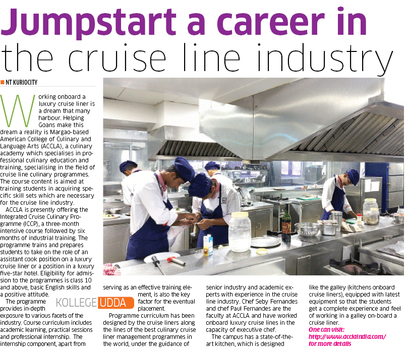 Jump start your career in the Cruise Line Industry with us