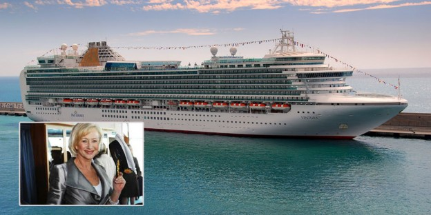 P & O Cruises' Ventura cruise line